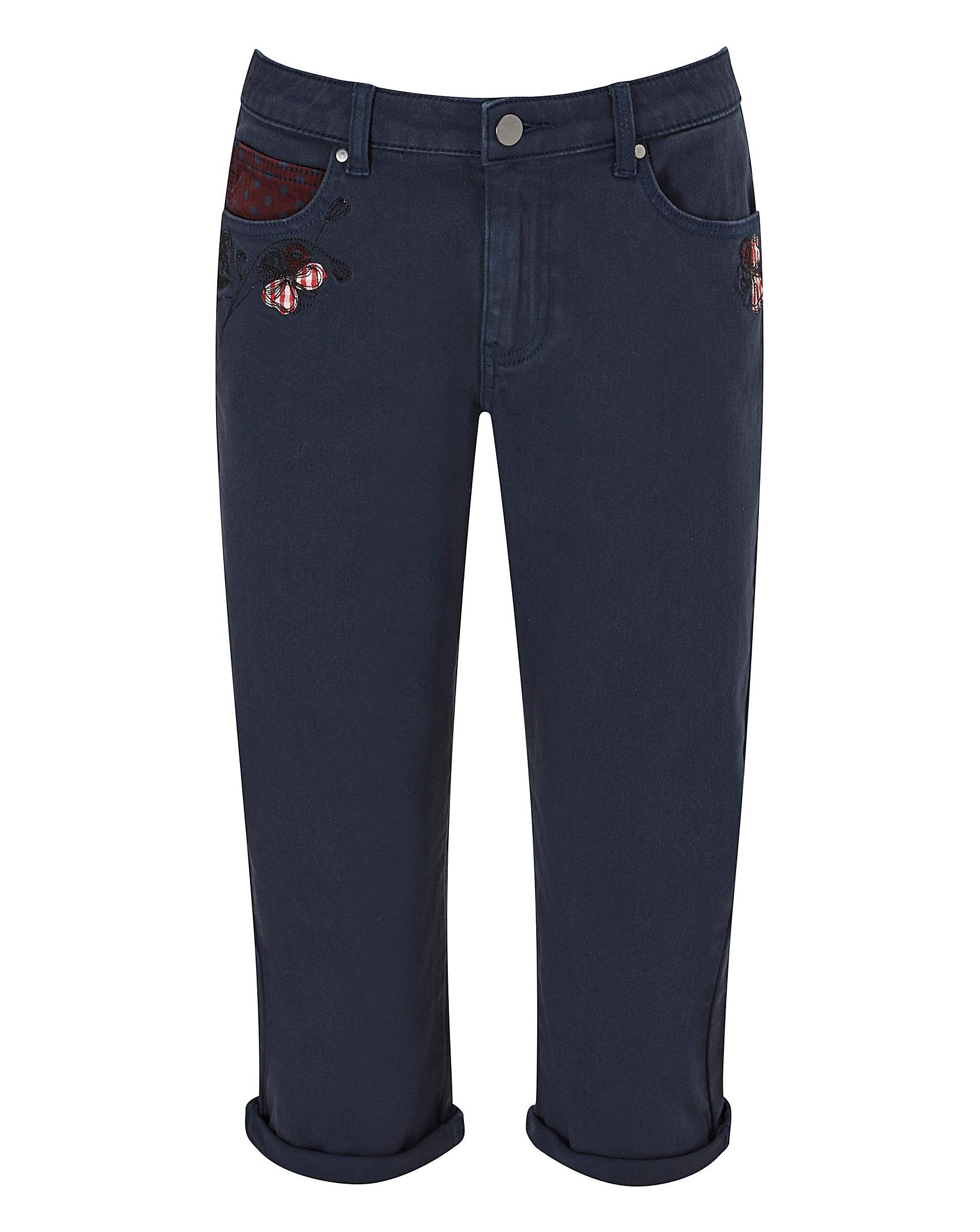 92f9adef5e0473 Joe Browns Remarkable Crop Trousers | Simply Be