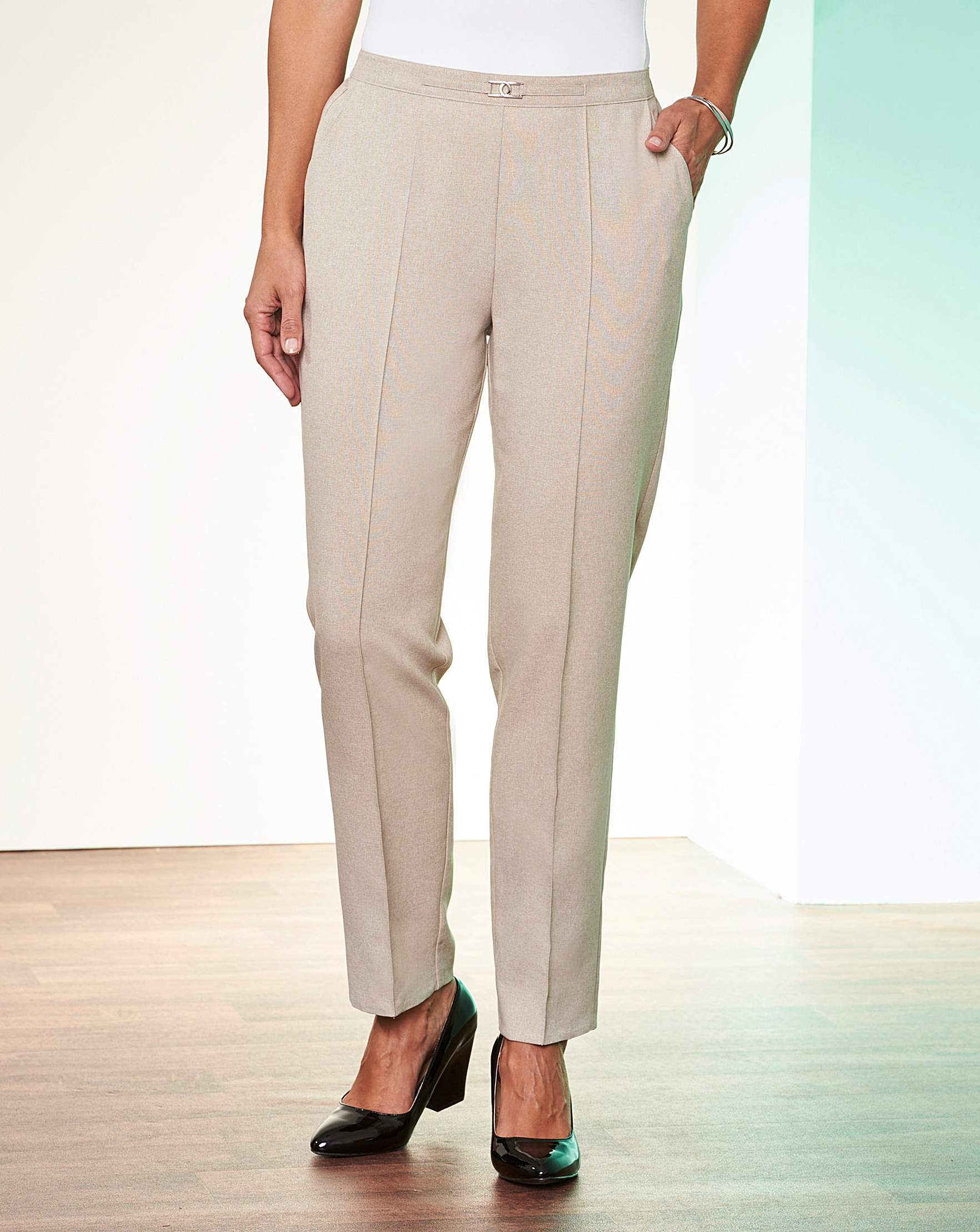 a9d6e9b1c32 Slimma Pull on Trousers Extra Short