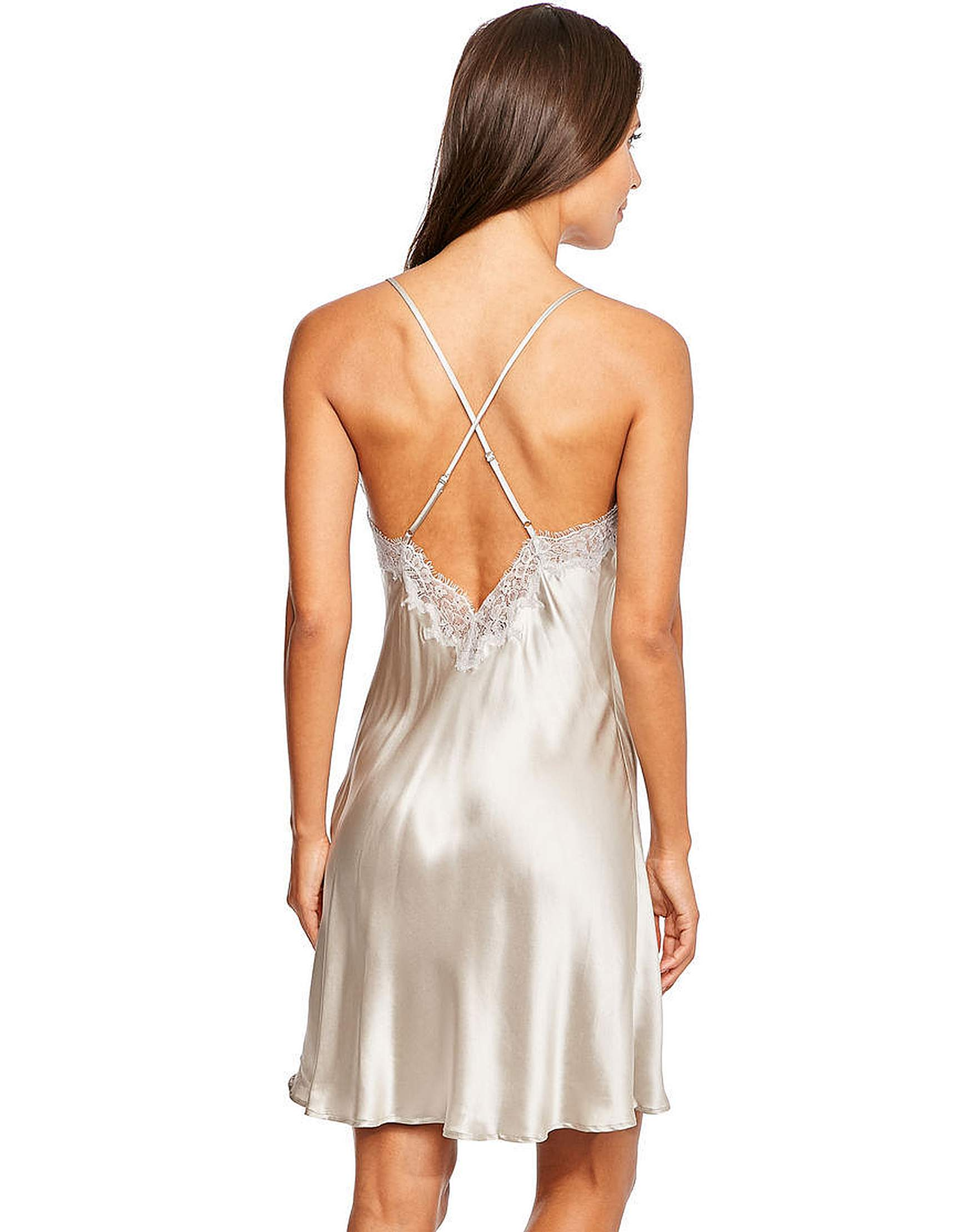 ef38c6404 Figleaves Lana Silk and Lace Chemise
