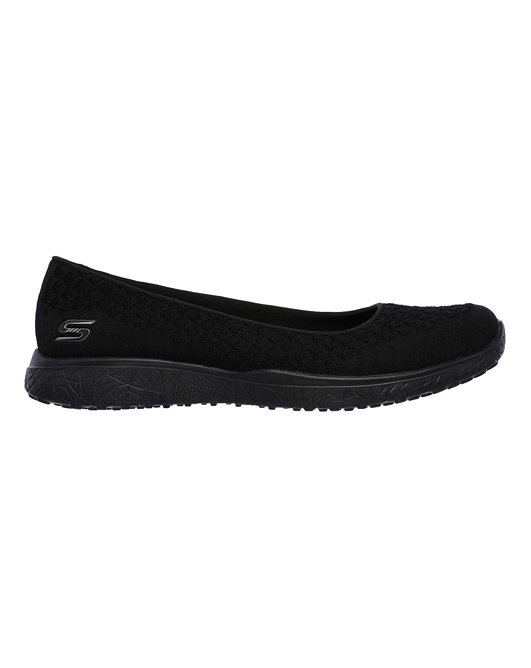 39e078cdc24 Skechers Microburst Wide Fit Trainers