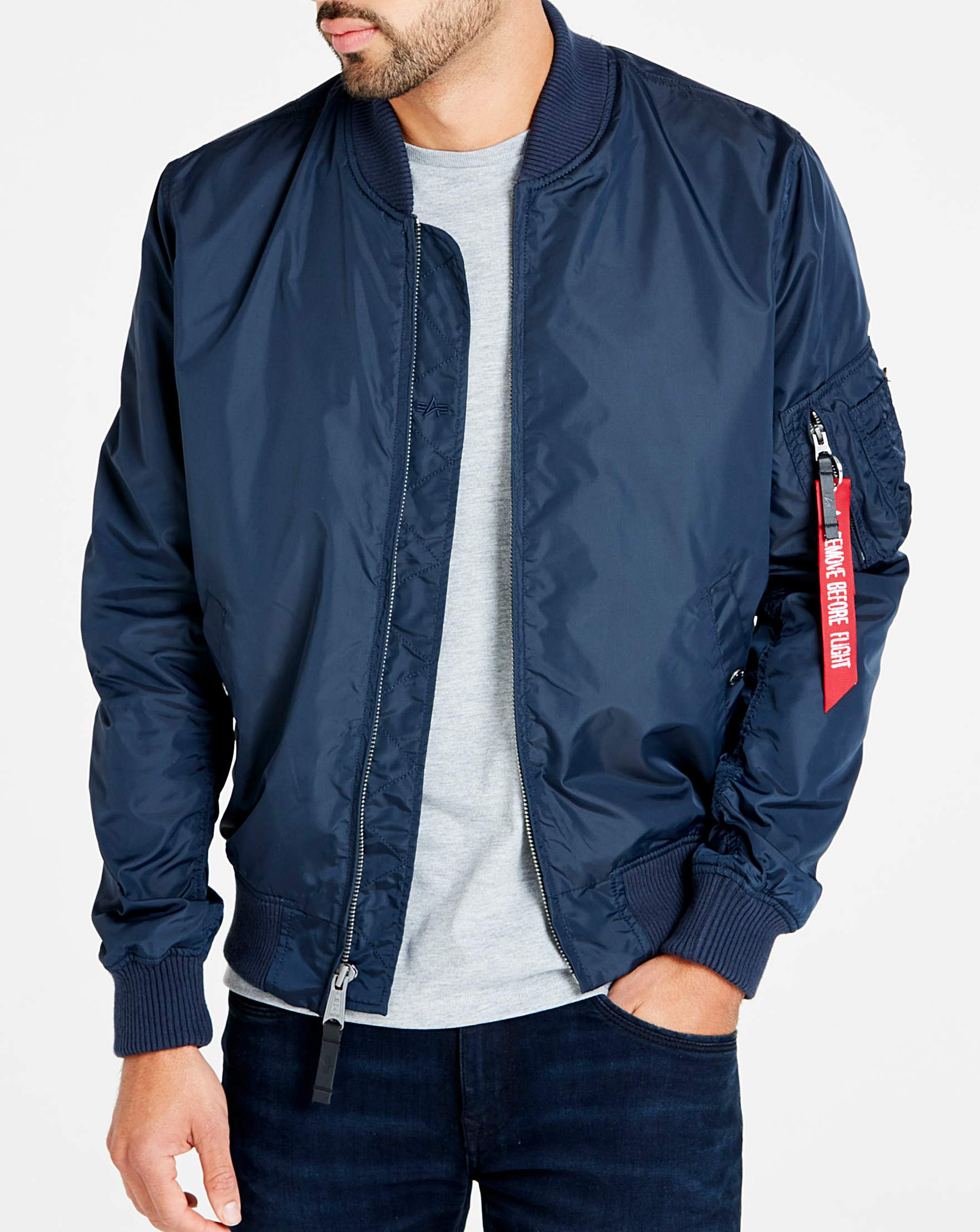 ae5d3f4c7 Alpha Industries MA-1 TT Bomber Jacket