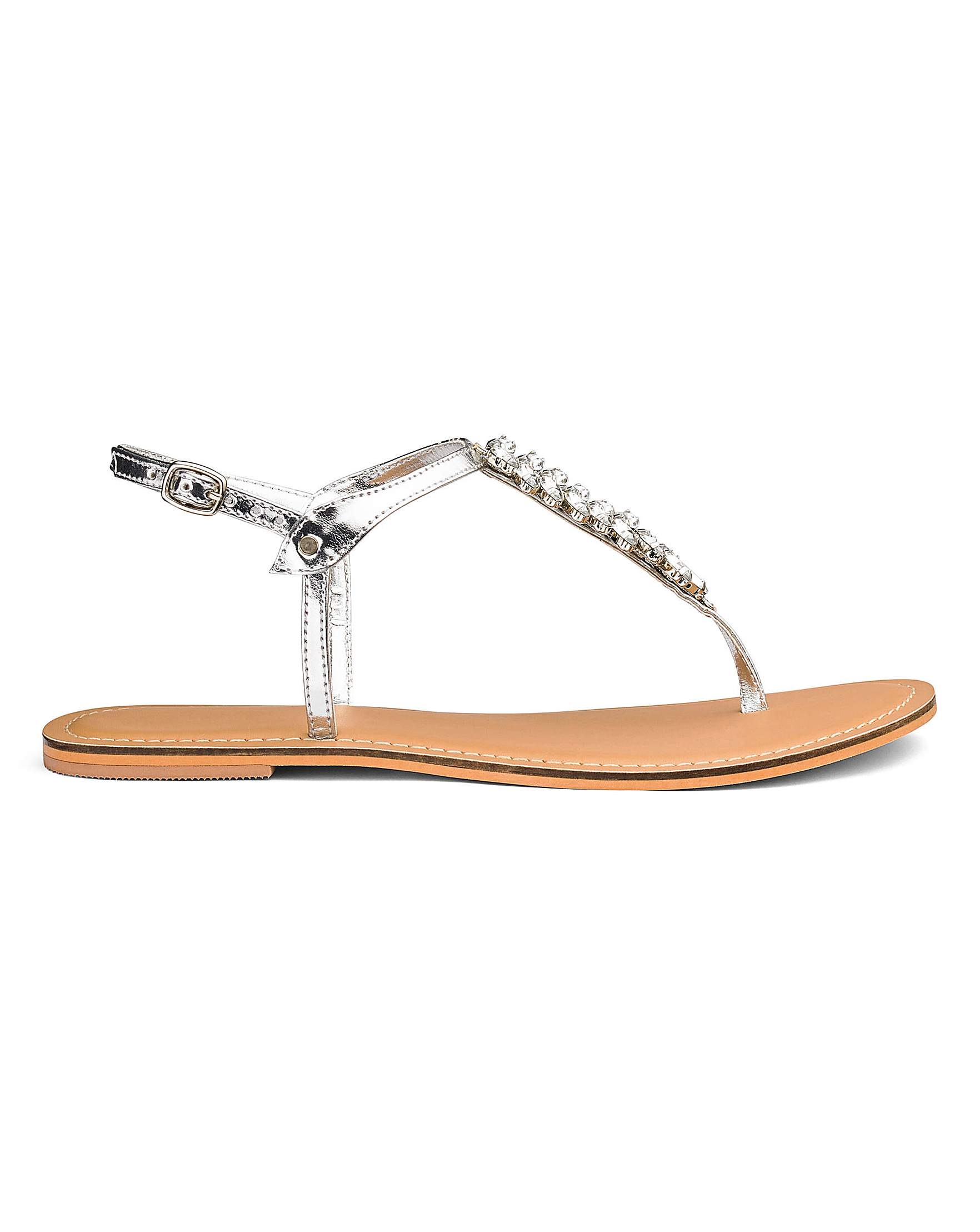 a492edda6f3a Gracie Diamante Sandal EEE Fit