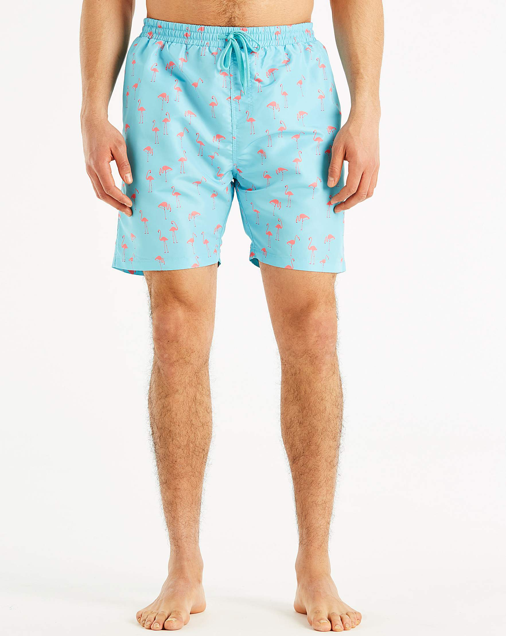 8b077f2c0d9 Jacamo Flamingo Printed Swim Shorts