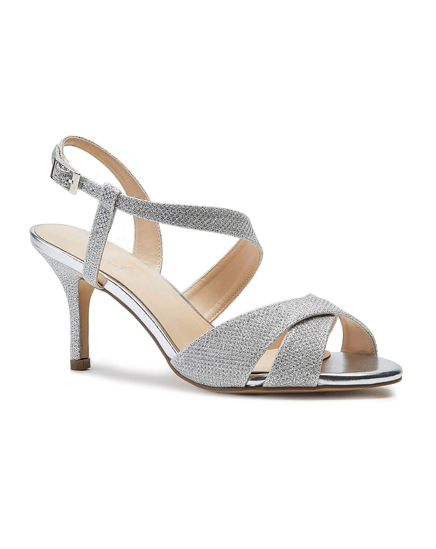 7b6f2d24106 Paradox London Hogan Wide Fit Sandals