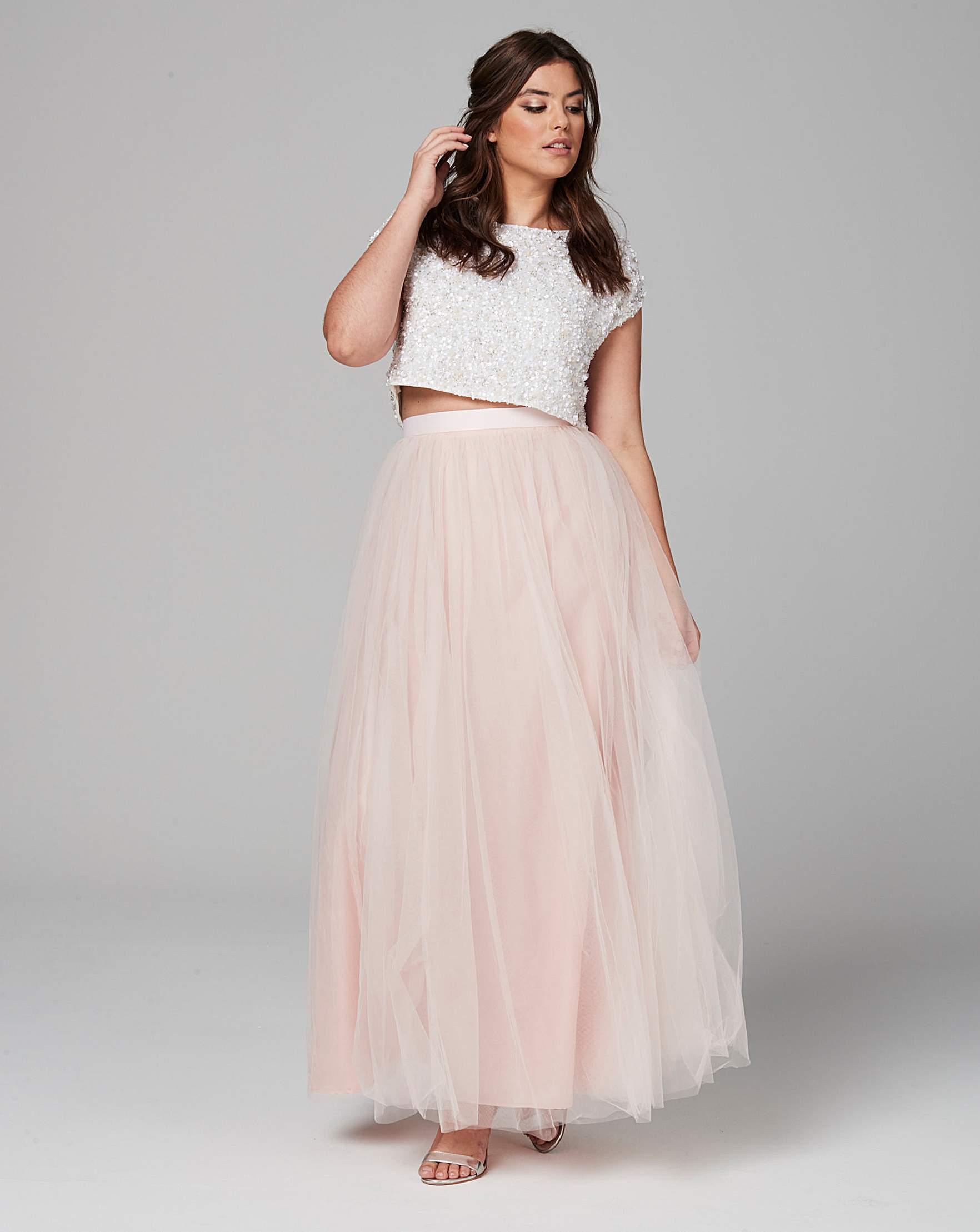 98b0d55778 Coast Tulle Maxi Skirt | Simply Be