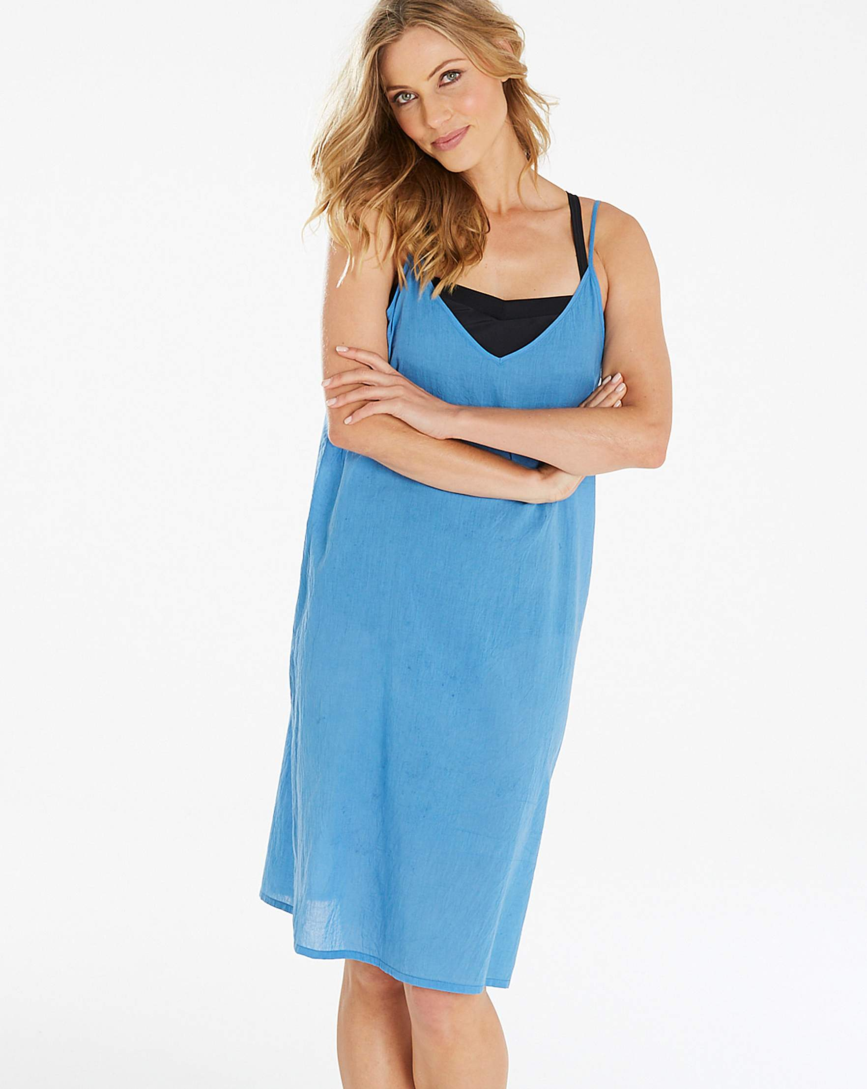 bf1ac5a7073 Simply Yours Value Strappy Beach Dress