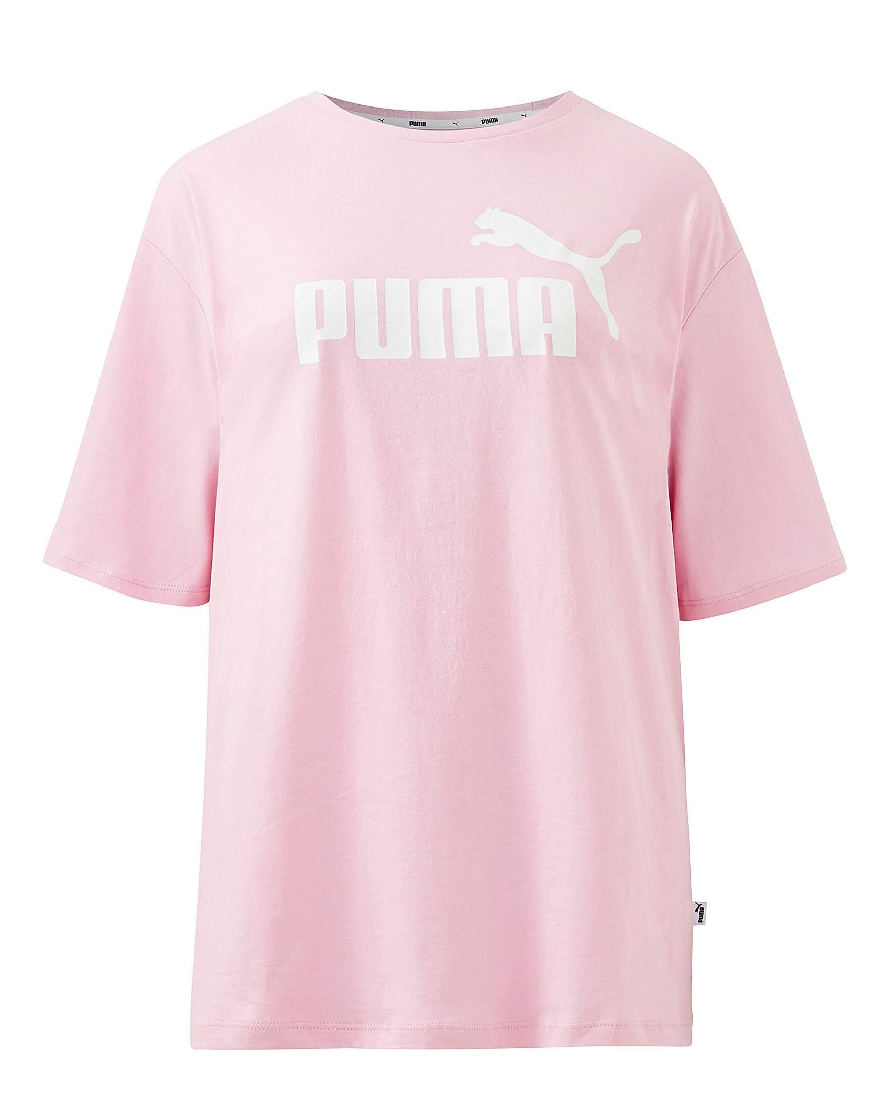 Puma Essential T ShirtOxendales Ladies Pink xWdCroBe