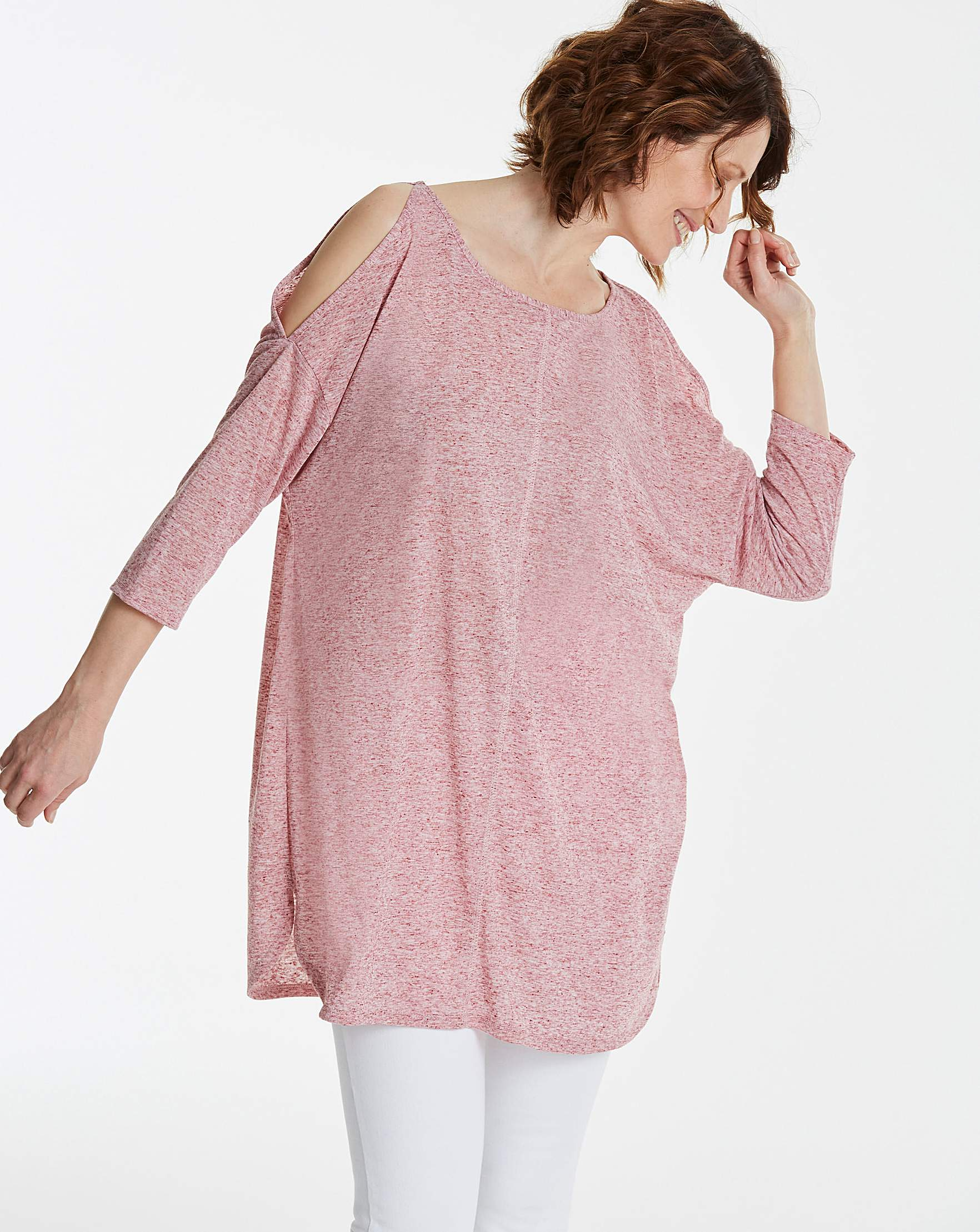 784e1c34b7e Linen Cold Shoulder Tunic | Oxendales