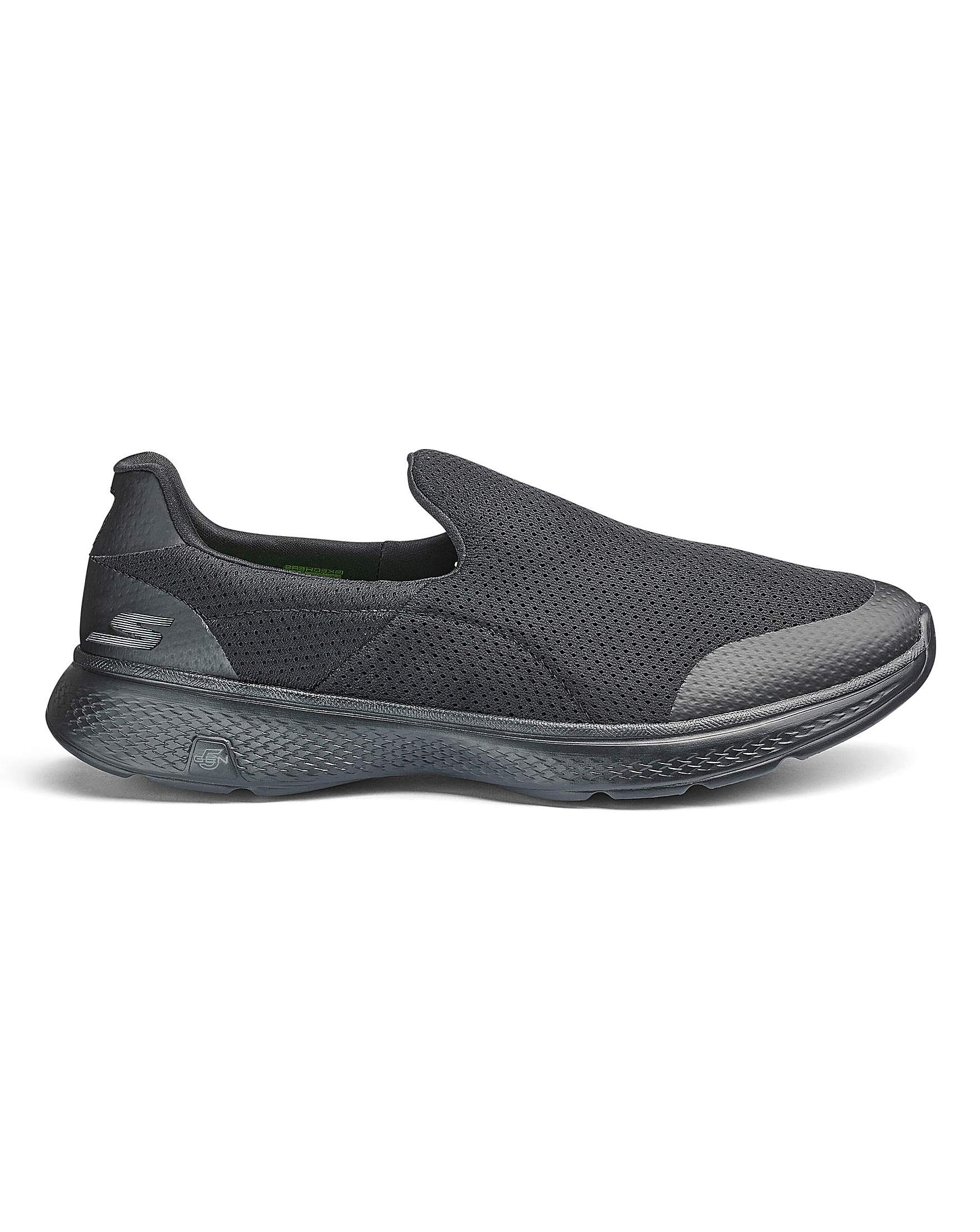 3aa5b8851cd6 Skechers Go Walk 4 Incredible Wide Fit Trainers