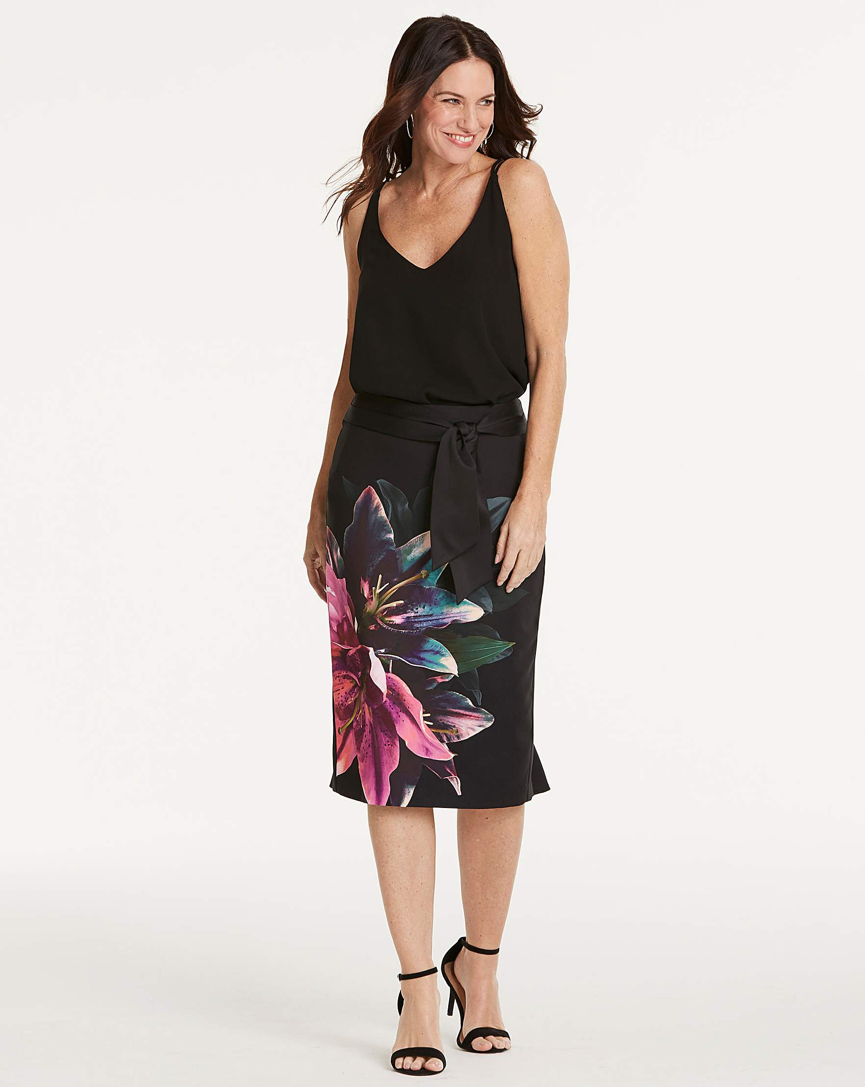 67ce90fe1e Oasis Photographic Lily Pencil Skirt | Oxendales