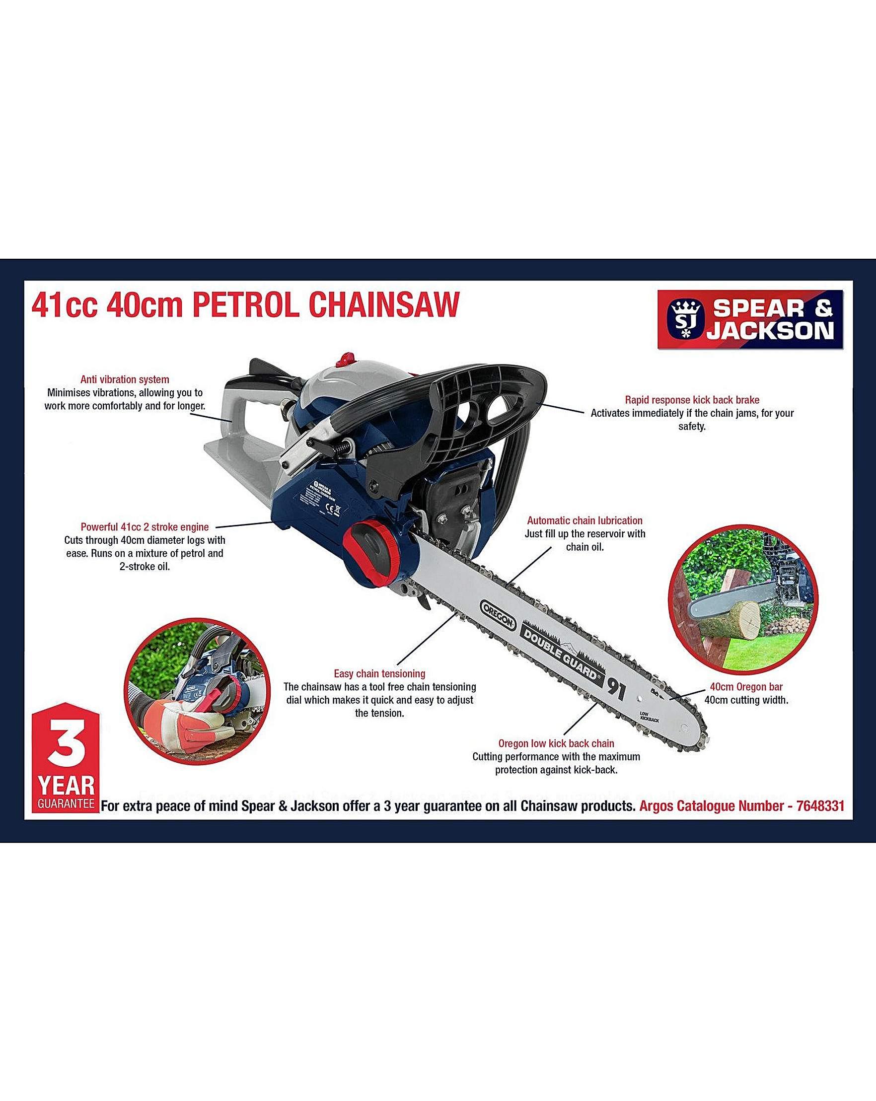 S4140PC 40cm Petrol Chainsaw