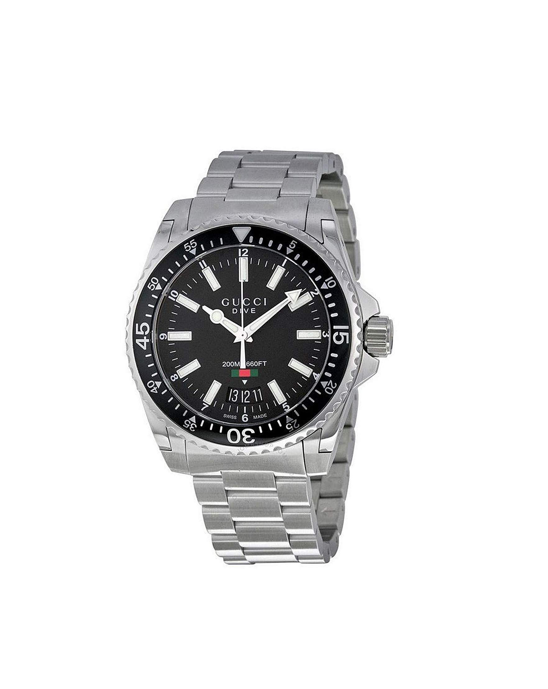 7eed69fff Gucci Dive Stainless Steel Gents Watch | Simply Be
