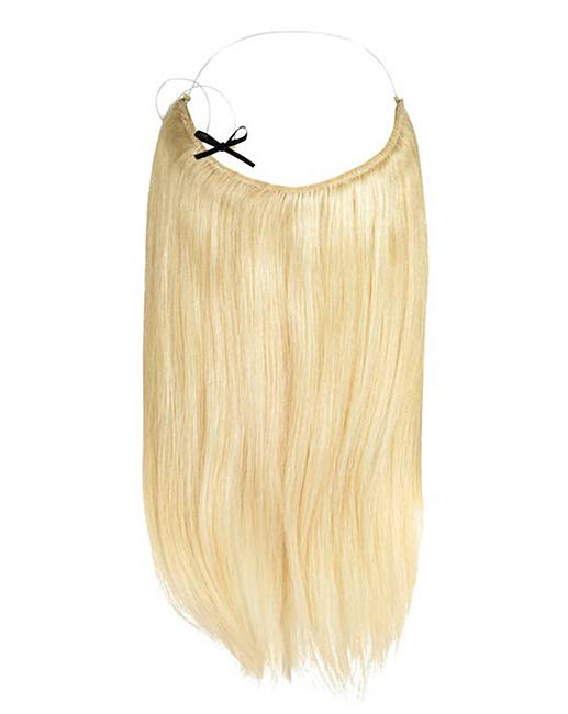 Halo 16in Hair Extensions Beach Blonde Simply Be