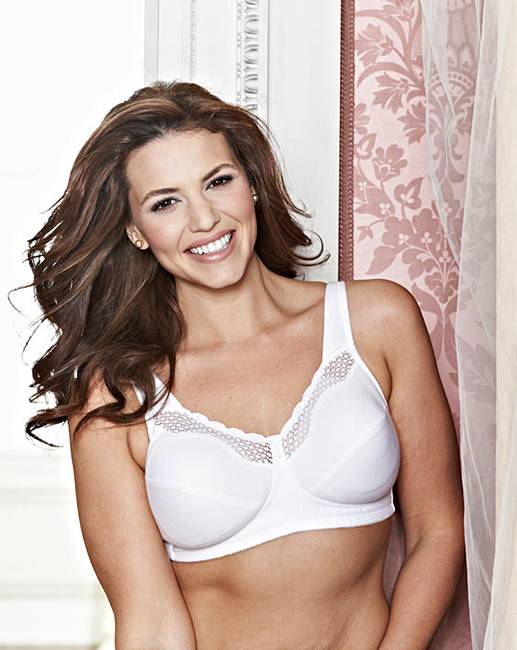 2a8da3f8902 Bestform Cotton Comfort White Bra