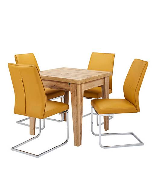 Aston Dining Table 4 Atlanta Chairs Fashion World