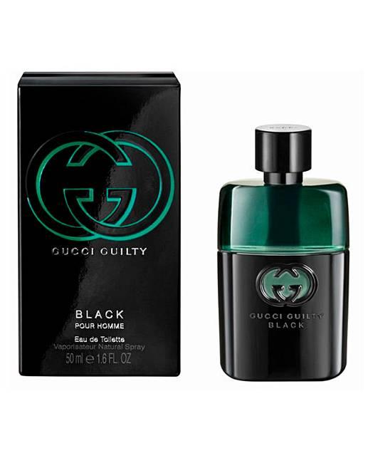 caef36328 Gucci Guilty Black Pour Homme 50ml EDT | J D Williams