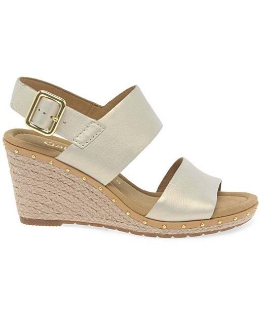 7fcacf649a Gabor Anna 2 Womens Wedge Heel Sandals | Premier Man