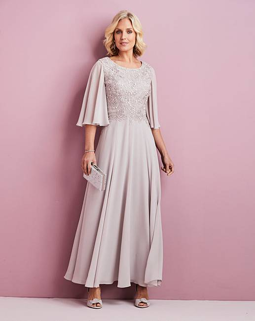 Nightingales Lace Detail Dress by Nightingales