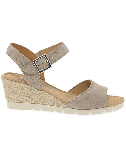 Pre Order Get To Buy Sale Online Gabor Nieve Womens Wedge Heel Sandals women's Sandals in Clearance View 0m8oii4Ip
