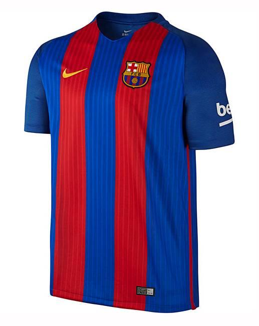 d8a622555 Nike Barcelona FC Replica Home Shirt