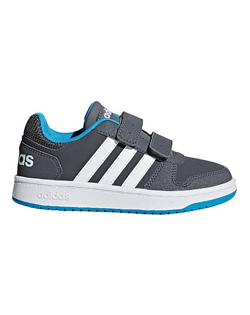 113df58cd9e7 adidas Hoops 2.0 CMF Infant Trainers