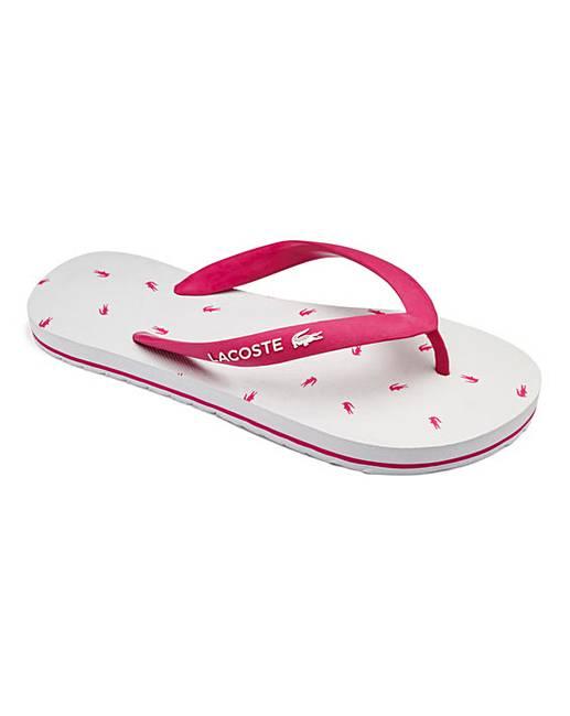 59ee36af8ed8 Lacoste Nosara Junior Flip Flops