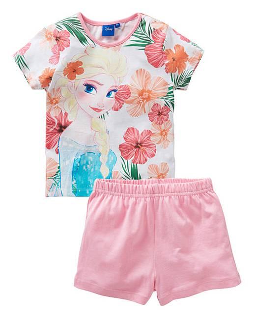 784eea44dd293 Frozen Girls Pyjama Short Set | Oxendales