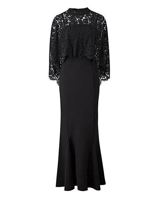 Cape Maxi Dresses
