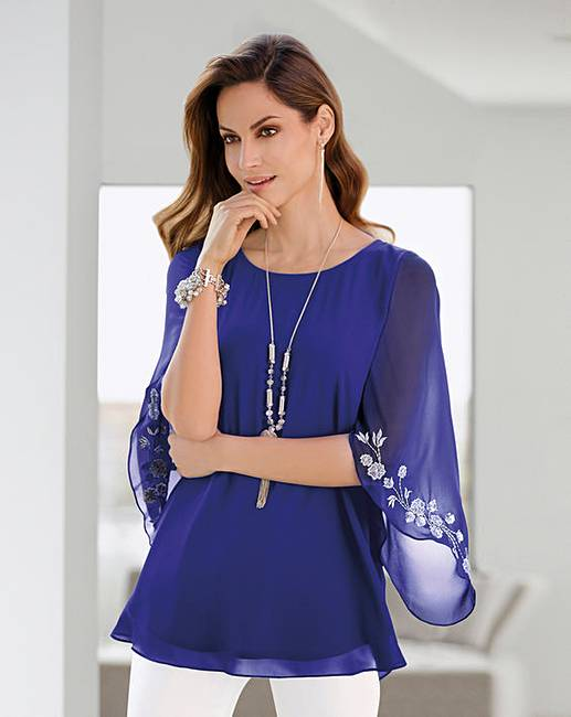 702d9070f4a8ad Together Embroidered Blouse