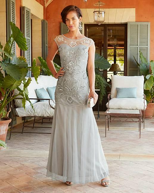 f14850063e3e Joanna Hope Beaded Maxi Dress