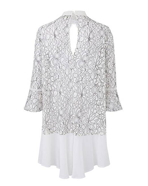 5e2633dec94 Joanna Hope Lace Tunic. Click to view 'Joanna Hope' products. Rollover  image to magnify