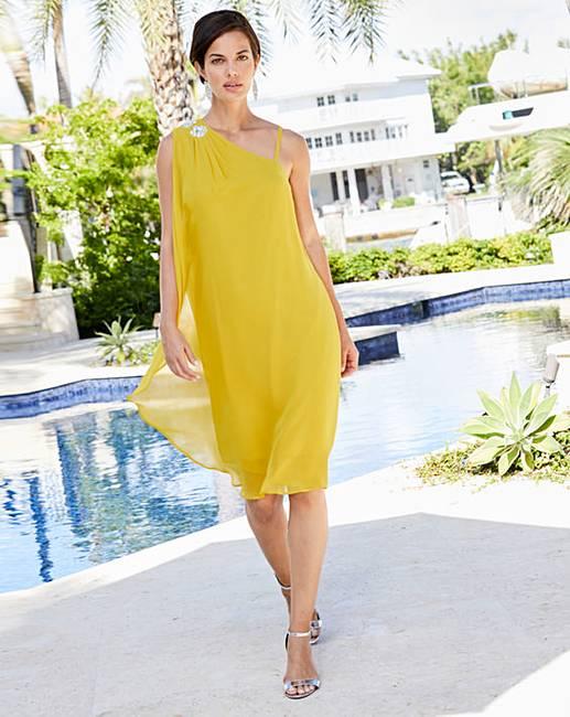 6f29cb3e2902 Joanna Hope Jewel Trim Dress