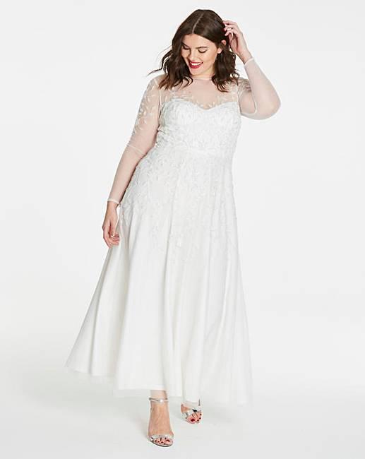 669dda24223 Joanna Hope Beaded Bridal Dress
