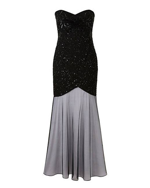 66cce6b53c8 Simply Be Beaded Maxi Dress