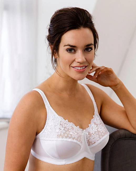b6aa1d3a11 Miss Mary Full Cup Wired Embroidered Bra
