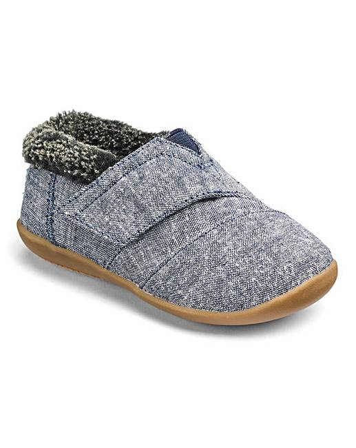 490835089d7 Toms Infant Chambray House Slippers