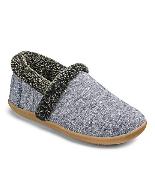 dfcf6ada313 Toms Chambray House Slippers
