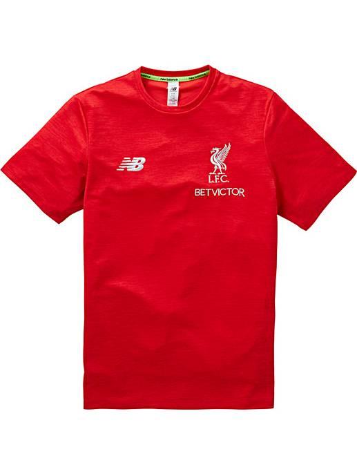 3d67c6d2aca New Balance Liverpool FC Leisure Tee