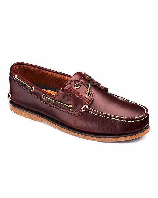 a12f53c45ac Timberland Classic 2 Eye Boat Shoes