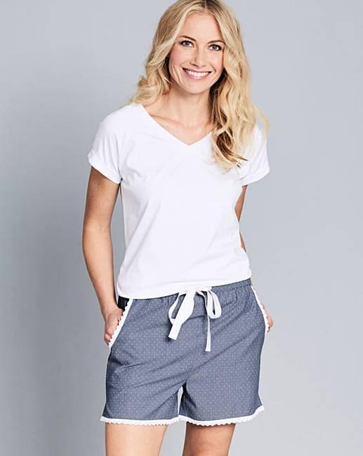 979c3671bd3 Pretty Secrets Luxury Cotton Shortie Set