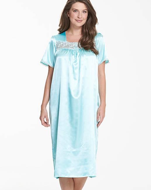 Pretty Secrets Satin Nightdress L48  8c0527455aa8f