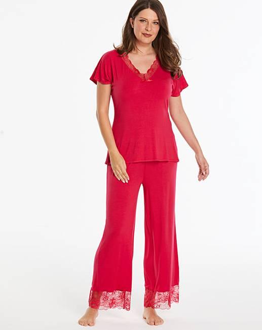 c2d617606e7 Ella Lace Pyjama Set. Click to view  Pretty Secrets  products