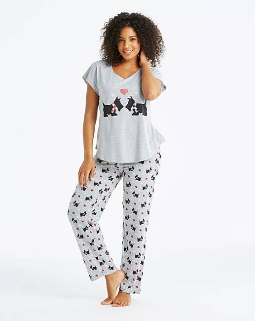 62fb79c7275 Pretty Secrets Short Sleeve Pyjama Set
