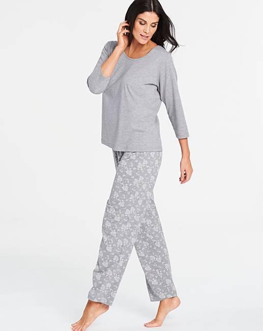 81cbfcc16 Pretty Secrets Cotton Blend Pyjama Set | J D Williams