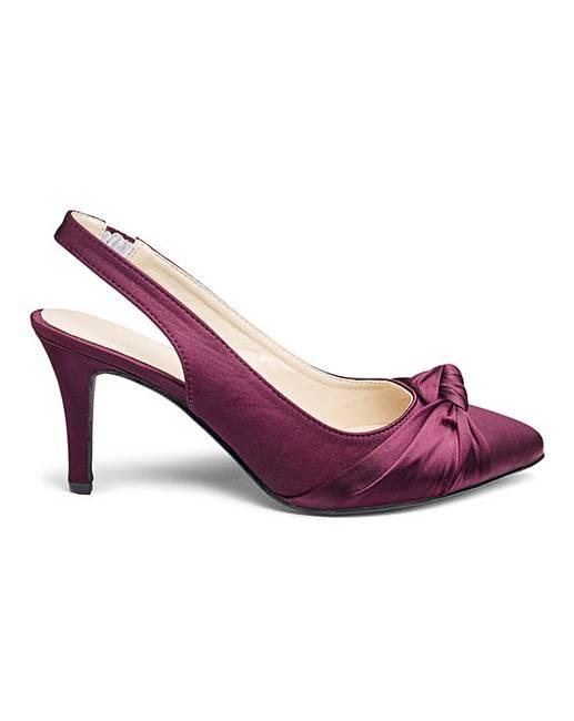 c4345d37f00 Heavenly Soles Slingback Shoes EEE Fit