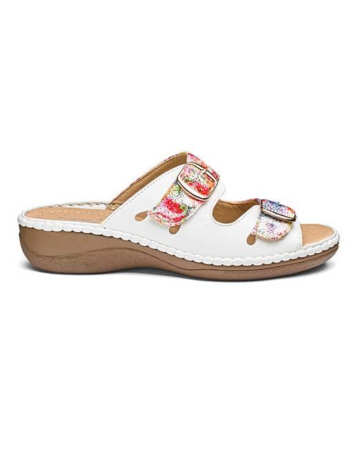 20d70a0f6ee Cushion Walk Mule Sandals EEE Fit