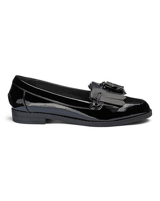 0baafc1f418 Fringe And Tassel Loafers EEE Fit