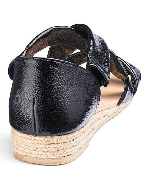2b8c354b3a9 Strappy Espadrille Sandals E Fit