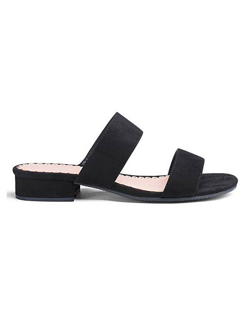 Eee Sandals Sole Mule Flexi Fit TFclKJ31