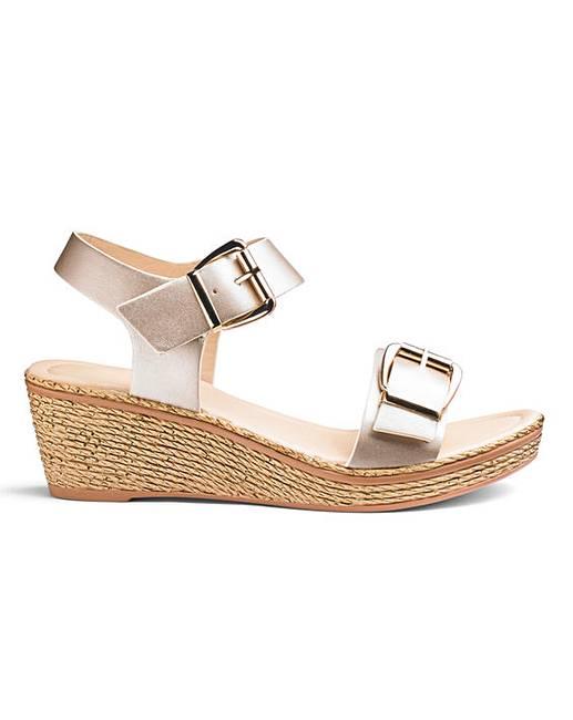 aa487e3ee74 Heavenly Soles Sandals EEE Fit